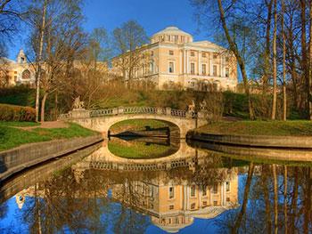 Tour Privado ao Palácio e Parque em Pavlovsk