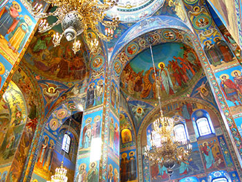 Guided tour to the Church of the Savior on Spilled Blood