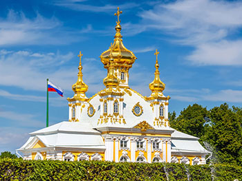 The East Chapel in Peterhof