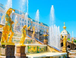 TOUR A PETERHOF